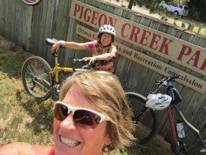 Pigeon Creek sign